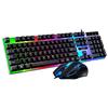 Hitam Keyboard & Mouse