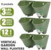 Green- 2 pots in 1