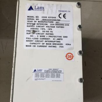Lam research control box 2300 kiy045 original stock 853-044013-125