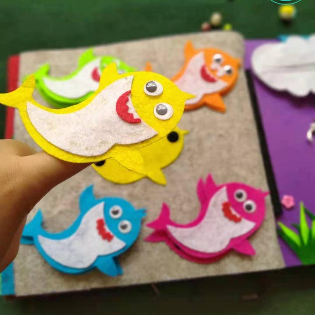 Kids Educational Diy Toys Top Sell Felt Diy Toys Customized Family Diy Toys For Kids Eudcation