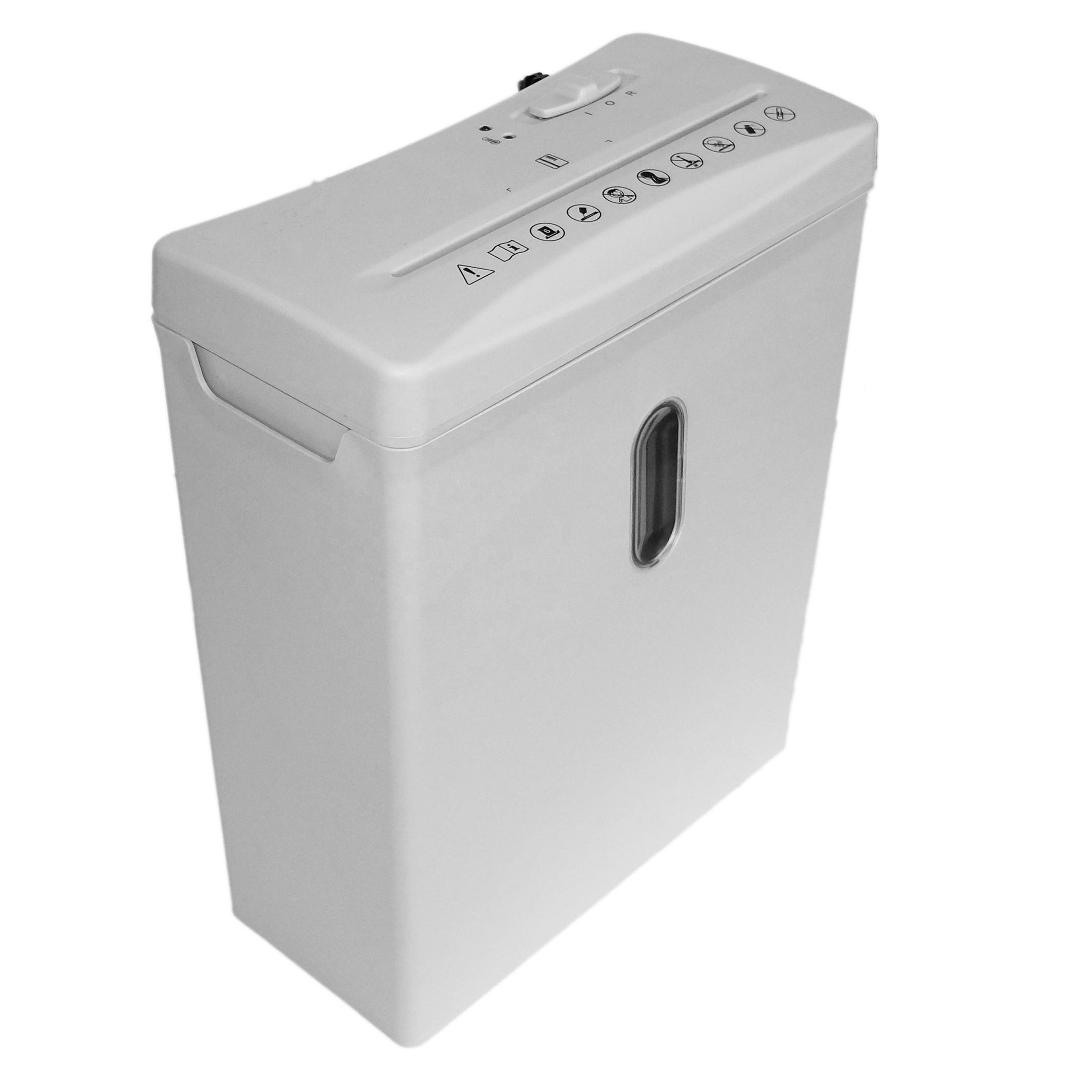 AT-6CU низкоуровневый измельчитель, 6 листов, 4x33 мм, измельчитель бумаги для личного или офисного использования