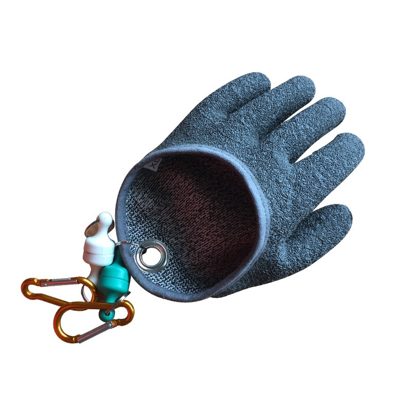 Fishing Cast Gloves Sun Gloves Fishing Outdoor Waterproof And Anti-Puncture