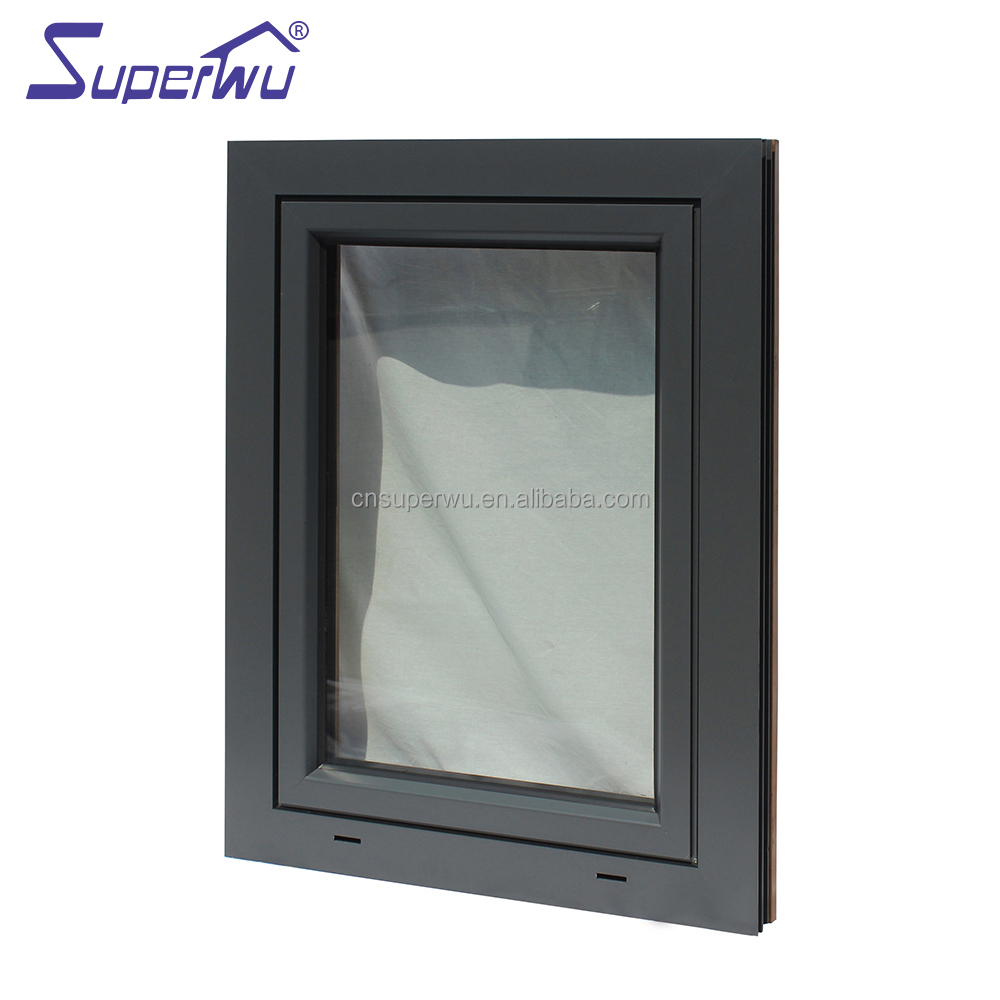 impact proof laminated glass open outside tilt & turn window