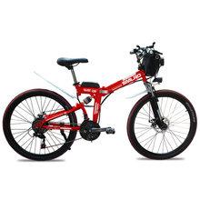 Новый продукт YTL, 26 дюймов, 48 В, 10ач, 350 Вт, литиевая батарея электрического велосипеда, ebike, светодиодный светильник(Китай)