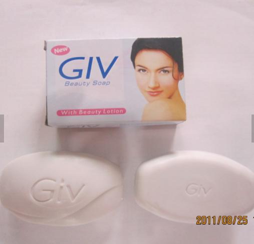 Wholesale price GIV Beauty bath soap bar 80g