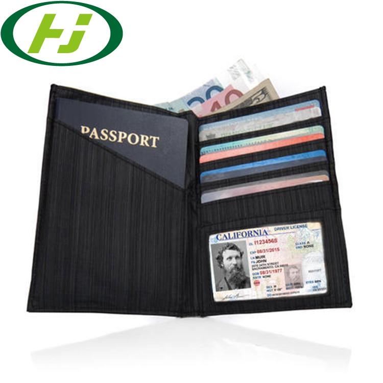 Семейный дорожный Держатель для паспорта, кошелек с RFID-защитой, органайзер для документов и билетов на молнии для женщин и мужчин, папка для презентаций