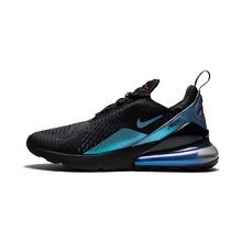 Оригинальные мужские кроссовки для бега Nike Air Max 270, классические удобные дышащие легкие спортивные уличные кроссовки с сеткой, AH8050-007(Китай)