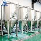 Jackets Fermenter Conical Industrial Fermentation System And Conical Glycol Cooling Jackets Stainless Steel Fermentor Tank