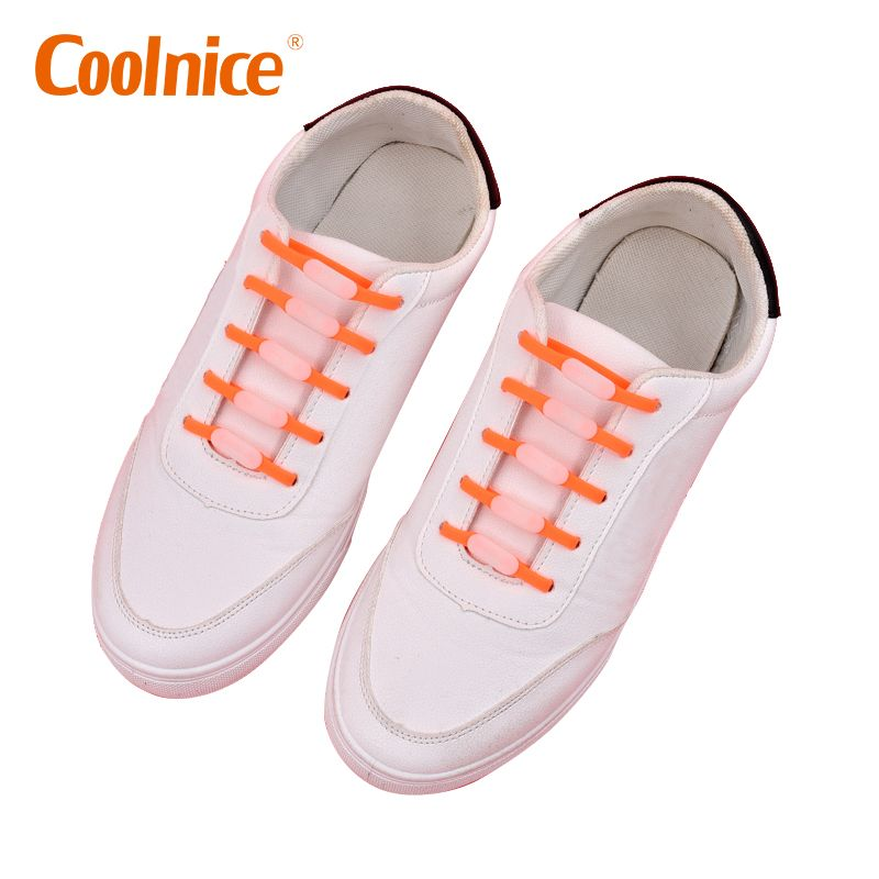 Best in Sports Fan Shoelaces Stretch Silicone Elastic No Tie Shoelaces