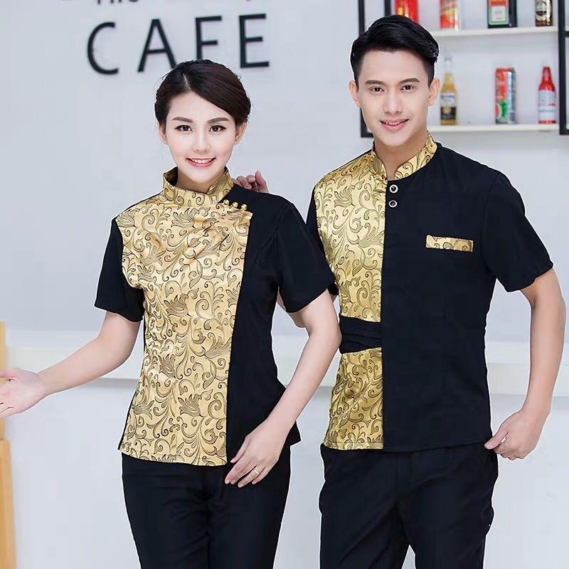 Fashional design hotel reception staff uniform