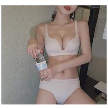 Женское нижнее белье, бесшовное нижнее белье без косточек с эффектом пуш-ап(Китай)