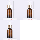 10ml 100ml Dropper Wholesale 5ml 10ml 15ml 20ml 25ml 30ml 50ml 100ml Amber Essential Oil Empty Amber Glass Dropper Bottle Serum Dropper Bottle