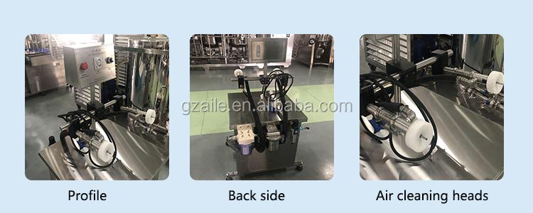 Small size plastic ari cleaning machine glass bottle / plastic bottle / washer machines