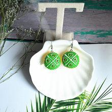 Уникальный дизайн Harajuku модные Мультяшные эмульсионные серьги с пищевыми продуктами креативные DIY Торт Мороженое бургер личные серьги(Китай)