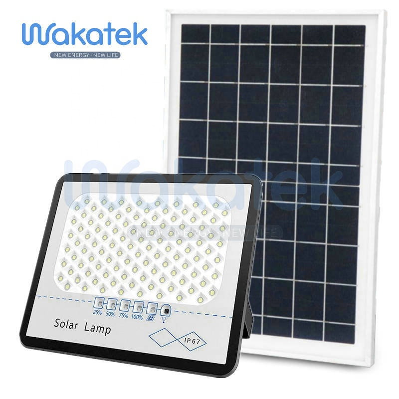 Wakatek Manufacture Direct advanced products 300w Solar Flood Light