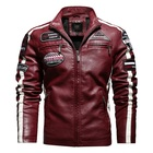 Men's Leather Jacket Men High Quality Biker Customized Fashion Stylish Motorbike Men's Leather Jacket Leather Jacket Men