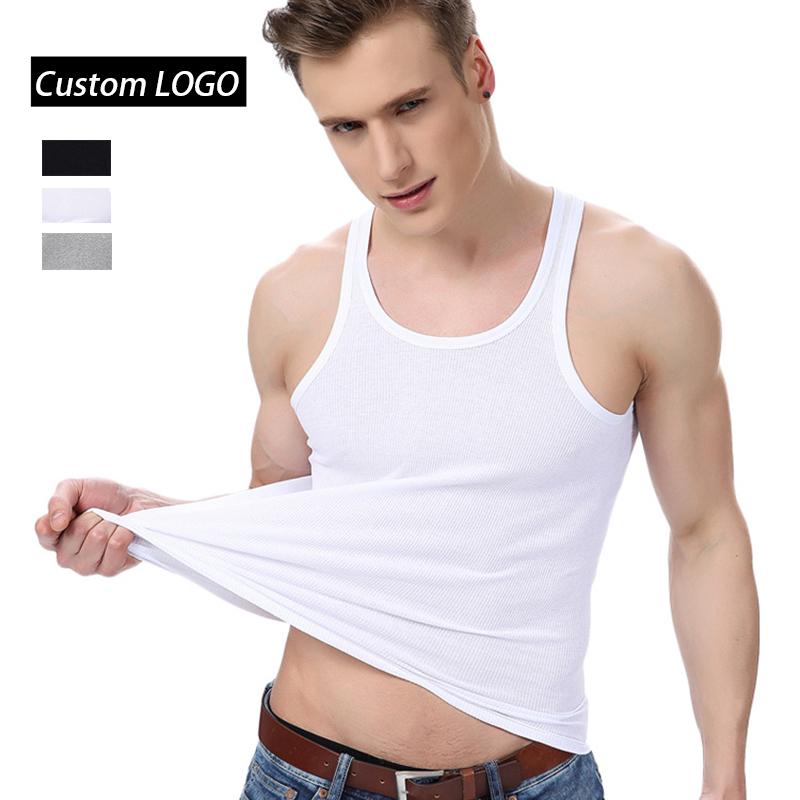 High Quality Wholesale White Undershirts Cotton Vest Tank Top Men Underwear  Undershirt - Buy Mens Tank Top,Men Underwear,White Undershirts For Men  Product on Alibaba.com