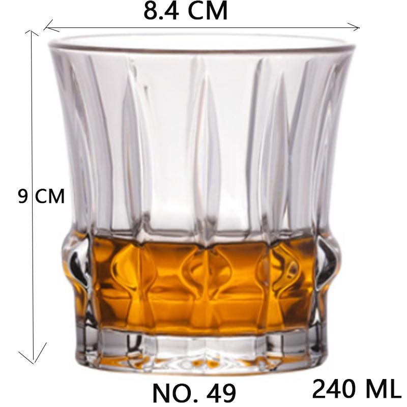 Рюмка для виски, Хрустальное стекло для вечеринки, свадьбы, вина, ликера, кофейного чая, чашки для пива, забавные очки, европейские креативны...(Китай)