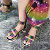 color-D sandals set