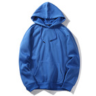 Wholesale High Quality Plain Hoodies Sweatshirt Unisex Hip Hop Oversized Custom sweater rench terry hoodies french terry hoodies