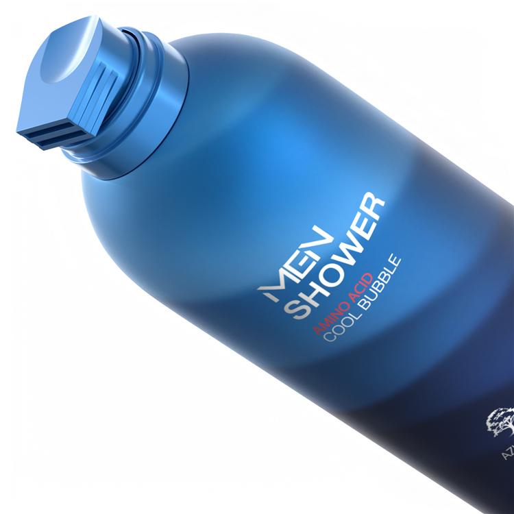 Shower Gel Mousse For Men Lightening the skin  350ml  OKANEN High Quality OEM
