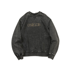 Black Sweatshirt For Men Men Direct Manufacturer Black Sweatshirt Long Length Acid Wash Fleece Crew Oversized Long Sleeve Sweatshirt For Men