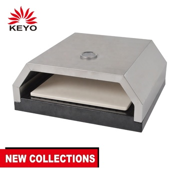 KEYO LFGB Outdoor Camping Commercial BBQ Charcoal Grill Pizza Oven