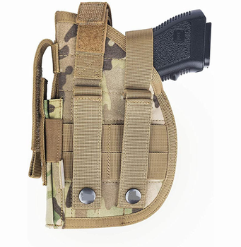 Professional Military Army Tactical Pistol Gun Molle Belt Holster Right Handed Pistol Holster