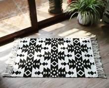 Персидский килим хлопок прикроватный ковер тканый коврик Ванная комната гостиная ковры геометрический ручной работы индийский ковер с бог...(Китай)