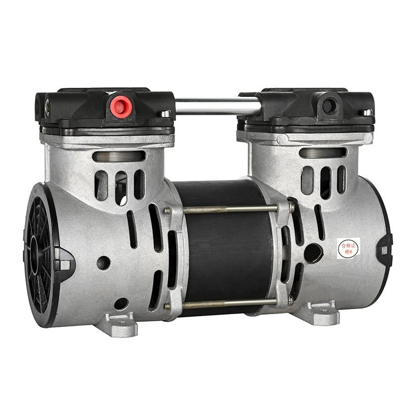 DC 12V /24V/48V car air compressor natural mini oilless air compressor from china factory