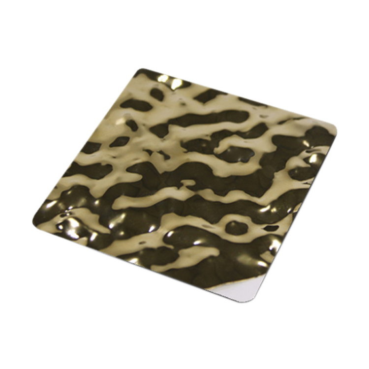 Prime Quality AISI 304 304L 430 316 Gold Mirror Hairline Colored Stainless Steel Sheets