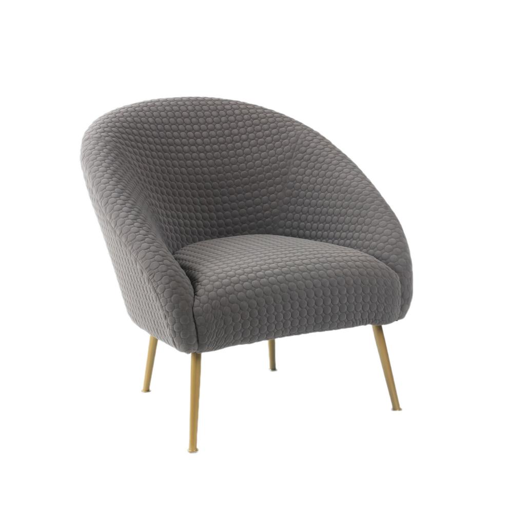 Velvet Living Room Leisure Chair Comfortable Upholstered Bedroom