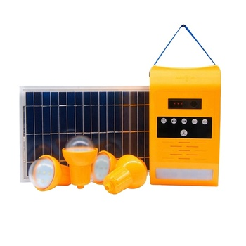 New Hot Sell Green Energy Save Power Home Lighting System With 3*1W LED light complete mini solar home power system grid