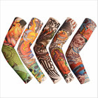 2022 Hot Sale Cooling Arms Sleeve Sport Customized Pattern Riding Sun Uva Uvb Protection Arm Covering Sleeves