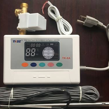 TK-8A Smart controller for solar water heater with temperature sensor