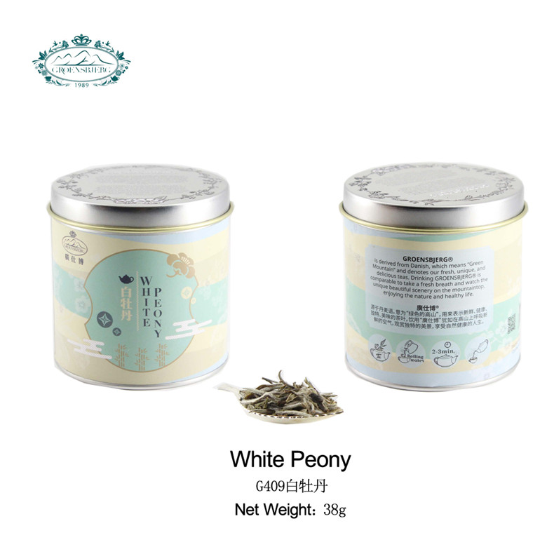mild peony aroma a floral aroma pale green color fruity flavour herbal tea packaging natural flower tea leaves - 4uTea | 4uTea.com