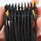 Hair Extension Factory New Fast Shipping Best Quality Pre Bonded Invisible 6d Brazilian Virgin Hair Machine Made Extension