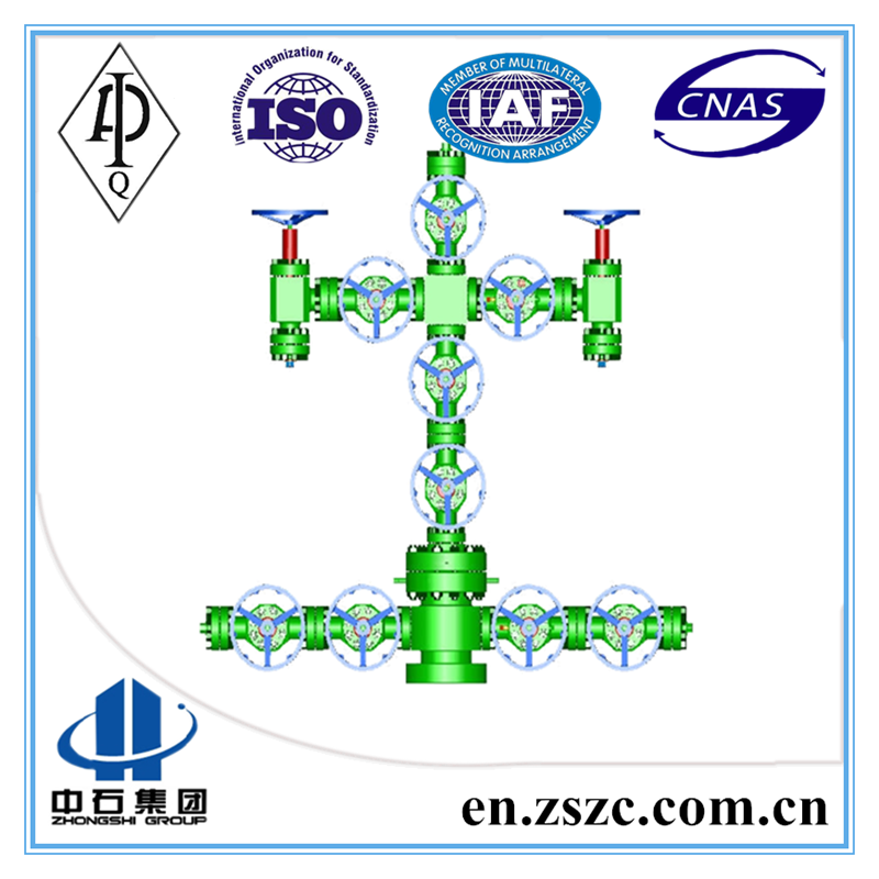 API 6A Wellhead Tools Christmas Tree X-mas Tree for Oil Drilling Petroleum drilling equipment made in China