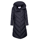 Winter Jacket 2021 New Design Warm Ladies Winter Windproof Fabric Hooded Jacket Down Jacket