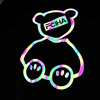 rainbow reflective logo