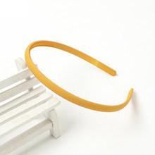 Женский тонкий обруч для волос, простая плотная повязка на голову карамельных цветов, аксессуары для укладки волос для девушек(Китай)