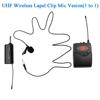 Black Lapel 1 mic