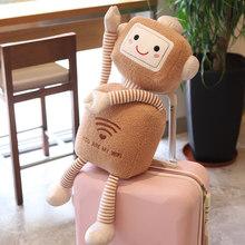 Kawaii Плюшевые креативные wifi роботы мягкие куклы детские игрушки украшение для детской комнаты плюшевые игрушки подарок на день рождения Рож...(Китай)