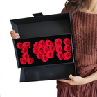 Flower Box Eternal Preserved Rose Included Cajas Se I Love U Caixa Blumen Gift Drawer I Love You Flower Box For Jewelry Set Mom Necklace