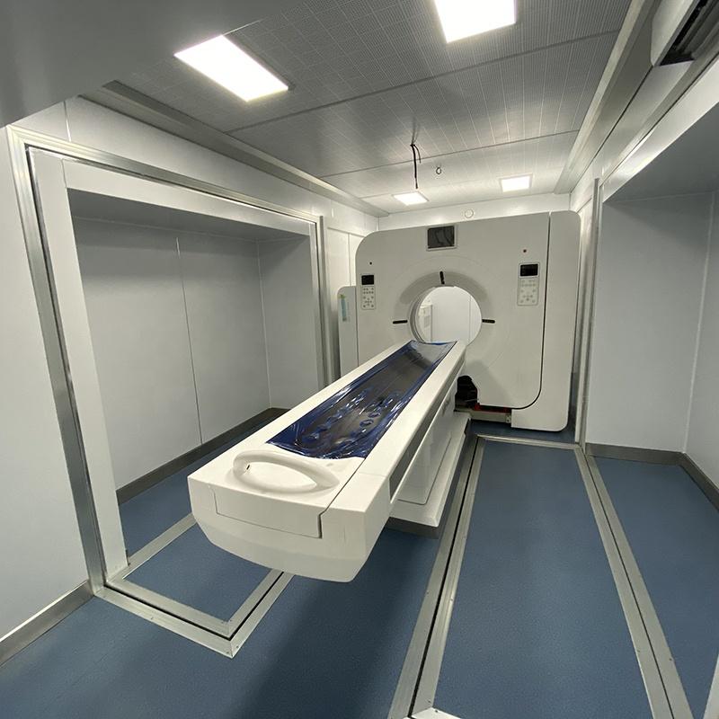 Высококачественное оборудование, медицинский грузовик CT, передовая технология ct, Мобильный автомобиль ct