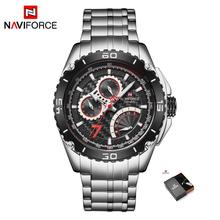 Спортивные мужские водонепроницаемые часы NAVIFORCE, брендовые Роскошные наручные часы orologio quarzo, Relogio Masculino, 2020(China)