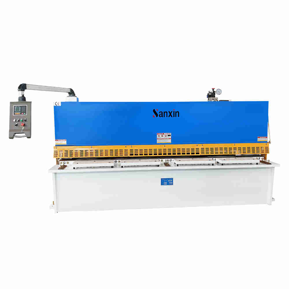 technical specification plate steel qc12y 6x2500 hydraulic swing beam shearing machine