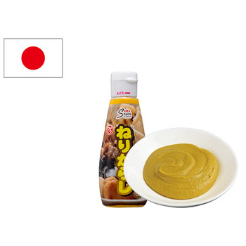 Japanese Squeezable Yellow Spicy Mustard Sauce To Foods