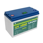 Rechargeable Long Life 3.2v 12.8V 150Ah 200Ah 300Ah 280Ah Lifepo4 Solar Battery Pack Cell 12V 100Ah Lithium Ion Batteries