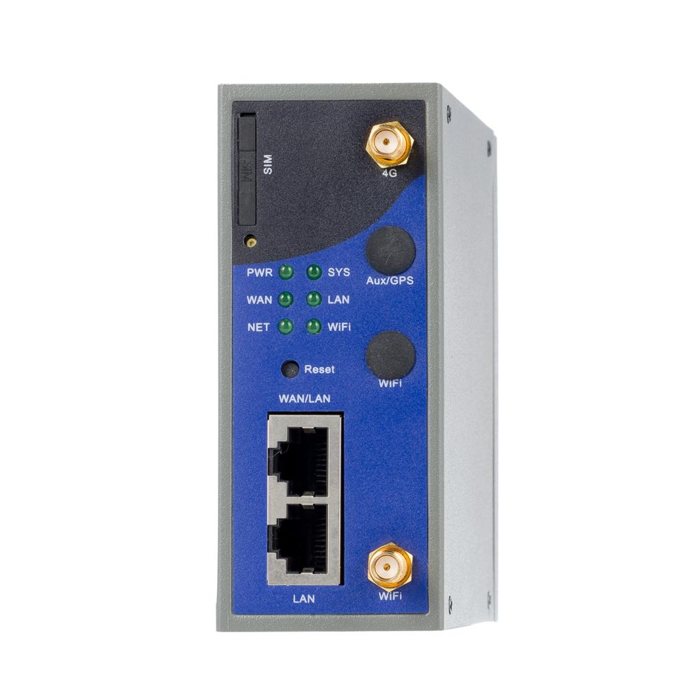 リモートコントロールモニタリングアクセス用のネットワークdinレールマウントを備えた産業用4g lteルーターゲートウェイ